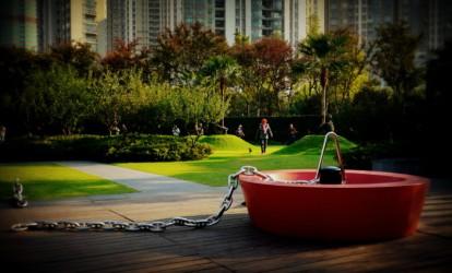 Public sculpture, Shanghai