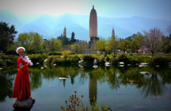 Bai lady three pagodas