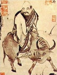 Laozi on a water buffalo