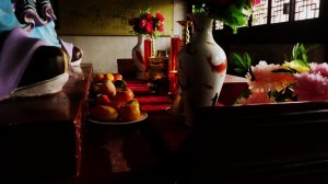 Zhougong Temple offerings