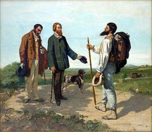 Gustave Courbet/European Realism, not Shang Yang/Qin Realism